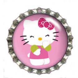 Fun Bottle Cap Pet Tags