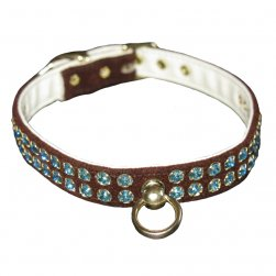Chocolate Velvet Swank Collar