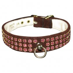 Chocolate Velvet Manhattan Collar
