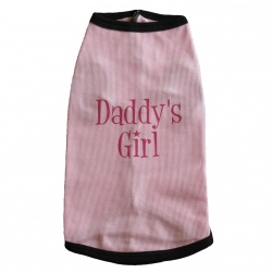 Pale Pink Daddys Girl Tank Top