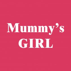 Hot Pink Mummys Girl Hooded Tee