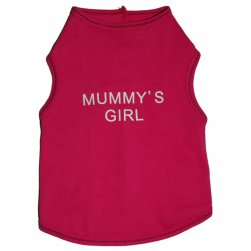 Hot Pink Mummys Girl Tank Top
