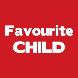 Red Favourite Child Hooded Tee