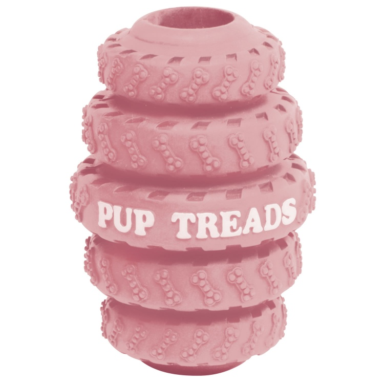 Rubber Puppy Treat Loader (Pink)