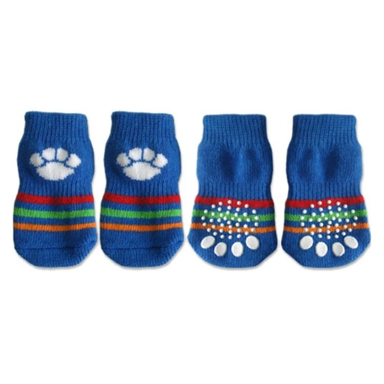 Non Slip Socks with Paw Design
