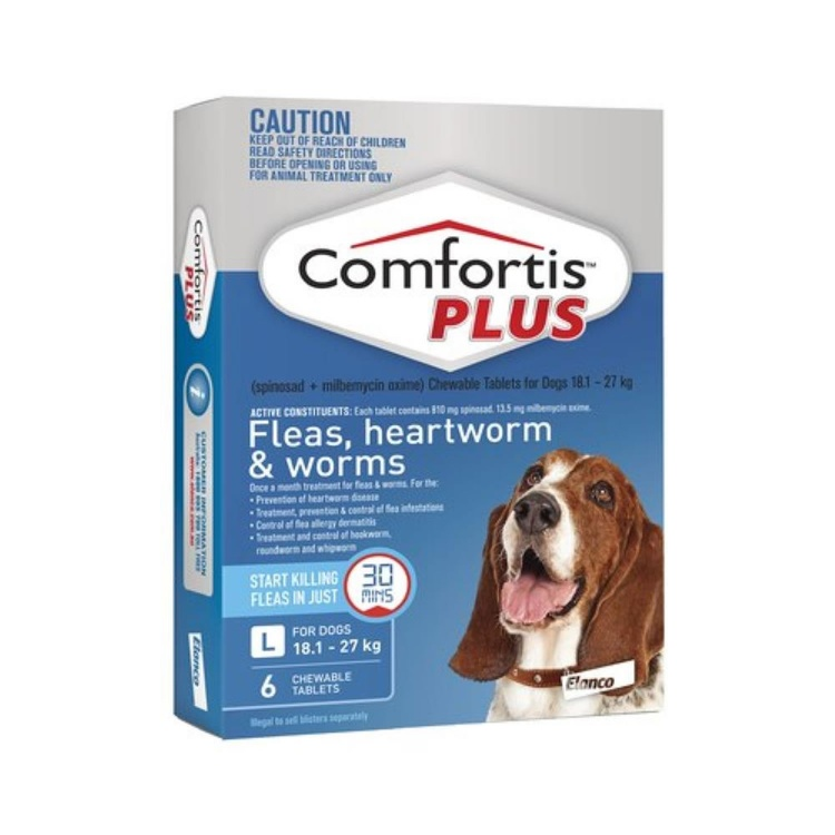 Comfortis Plus for Large Dogs (Blue)