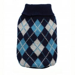 Argyle Knitted Jumper