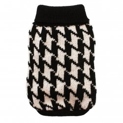 Houndstooth Knitted Jumper