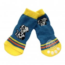 Non Slip Socks with Puppy Design