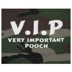 VIP Very Important Pooch Tank Top