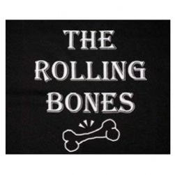 The Rolling Bones Black Tank Top