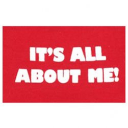 Red It's All About Me! Tank Top