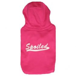 Hot Pink Spoiled Hooded Tee