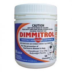Dimmitrol Monthly Heartworm