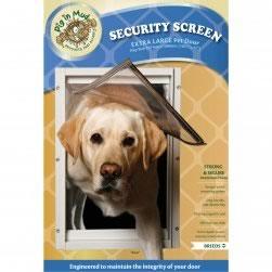 ... Security Screen Aluminium Pet Door (X Large)