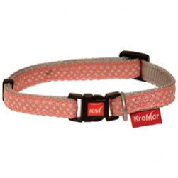 Pink Ribbon Puppy Collar