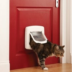 Staywell Deluxe Magnetic 4-Way Locking Cat Flap (400 Series)