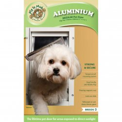 Aluminium Pet Door (Medium)