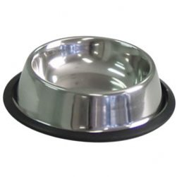 Non-Skid Tapered Stainless Steel Bowl