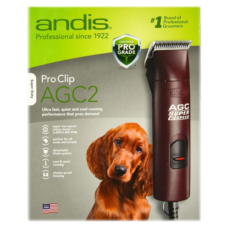 Pro Clip® AGC2 Super 2-Speed Professional Grooming Clippers