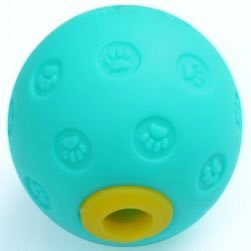 Blue Plastic Treat Ball
