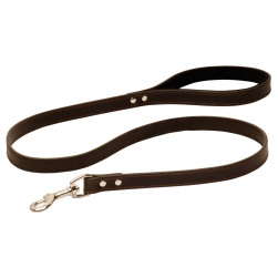 Decorative Leather Lead with Comfy Handle