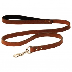 Designer Leather Lead with Comfy Handle