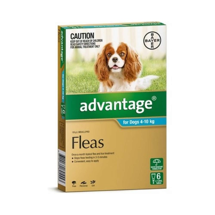 Advantage for Medium Dogs (Aqua)