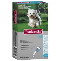 Advantix for Medium Dogs (Aqua)
