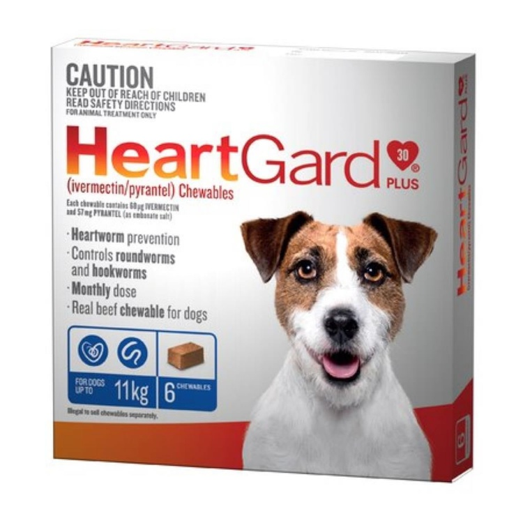 Heartgard Plus for Small Dogs (Blue)