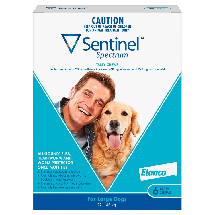 Sentinel Spectrum for Large Dogs (Blue)