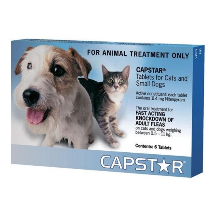 Capstar 11 for Cats and Small Dogs (0.5 to 11kg)
