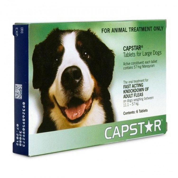 Capstar 57 for Large Dogs (11.5 to 57kg)
