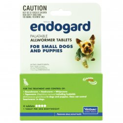 Endogard Allwormer for Small Dogs
