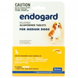 Endogard Allwormer for Medium Dogs