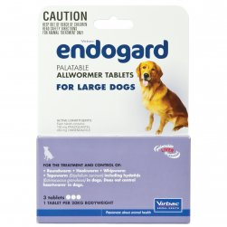 Endogard Allwormer for Large Dogs
