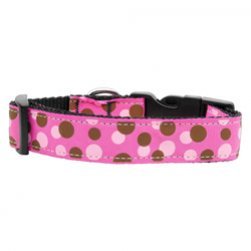 Polka Dot Nylon Collar