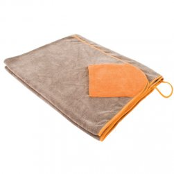 Microfibre Drying Towel with Hand Pockets